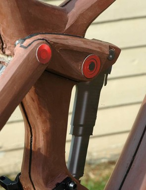 Then clay models were made to refine the look of the bike before alloy test mules were made