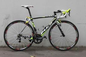 Denis Menchov is this year competing aboard Geox-TMC's Fuji Altamira