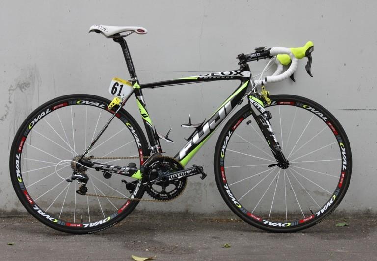 su Calma tobillo  Pro Bike: Denis Menchov's Geox-TMC Fuji Altamira - BikeRadar