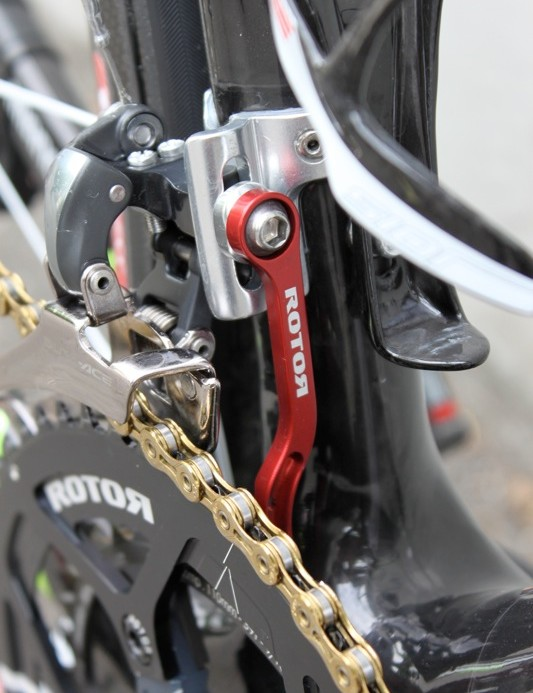 Rotor's braze-on mounted chainwatcher