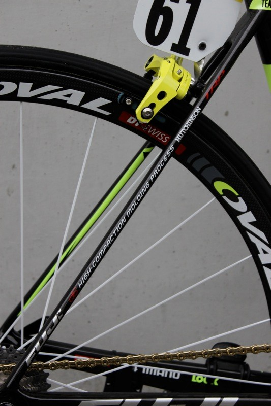 The Altamira has flat, thin seatstays, which is currently a popular design trend