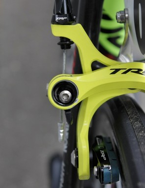 The key new feature of the 970 brake is its cam-style quick-release