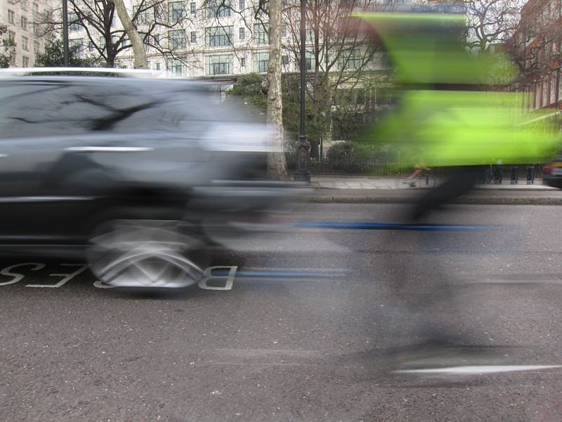 Cycling casualties in London went up last year but officials have attributed that to a massive rise in bike use