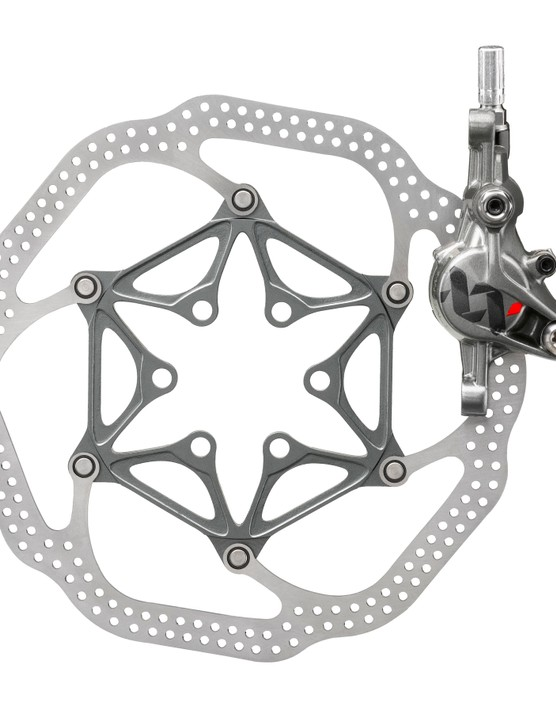 Avid say their newest XX brake weighs just 289g per wheel thanks in part to a new two-piece forged aluminum caliper