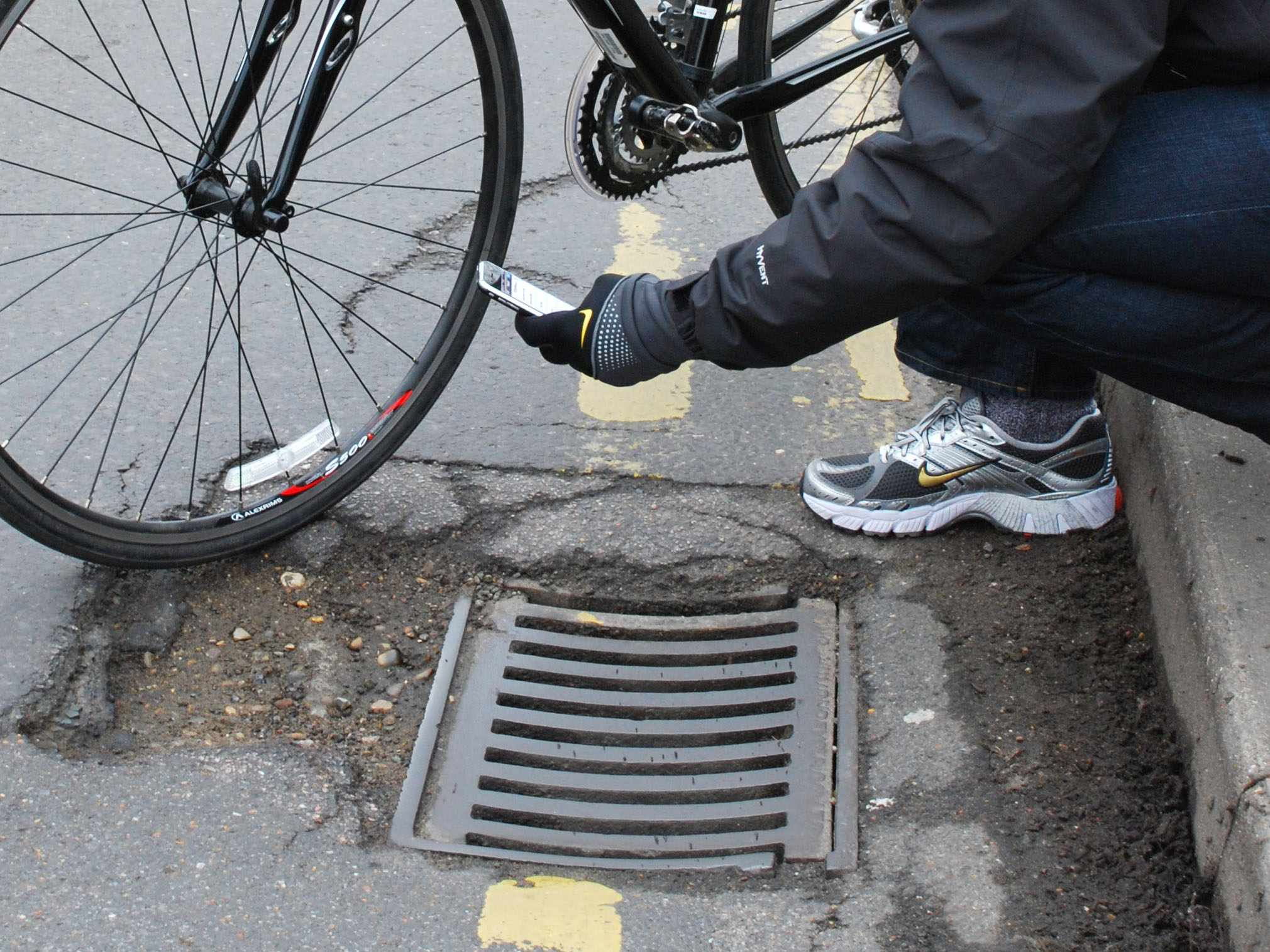 CTC reported 2,500 potholes last month alone