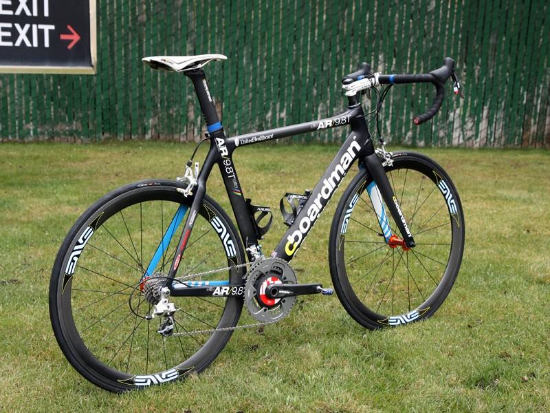 UnitedHealthcare rider Rory Sutherland is using Boardman Bikes' AiR 9.8 aero road bike this year.