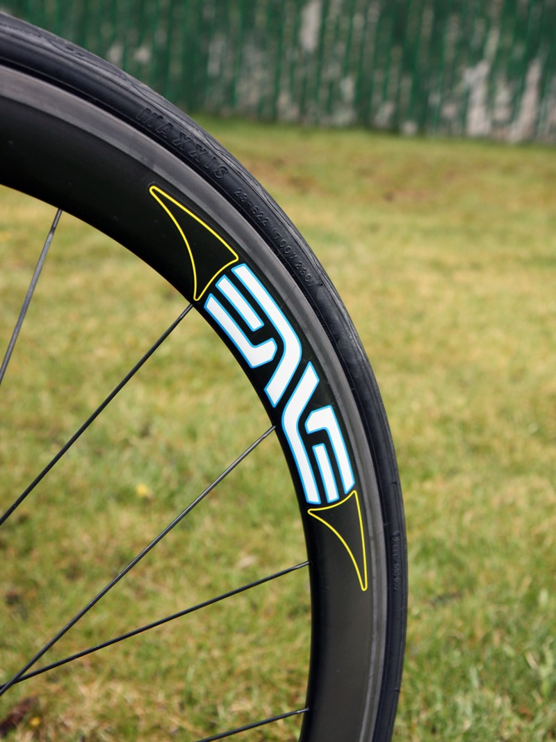 Enve Composites provides carbon rims for the UnitedHealthcare team.