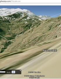 Cycling the Alps 3D tour
