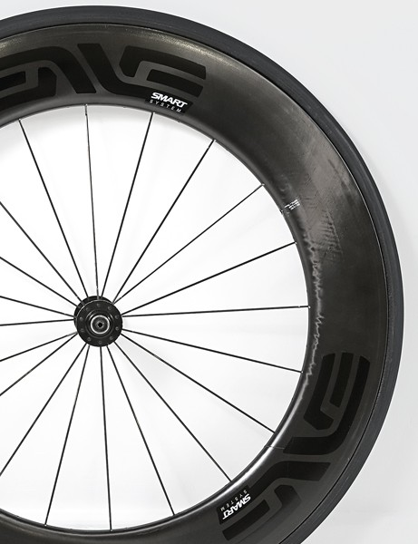 The 85mm front rim from the 8.9 wheelset surprised all the test riders with its stability