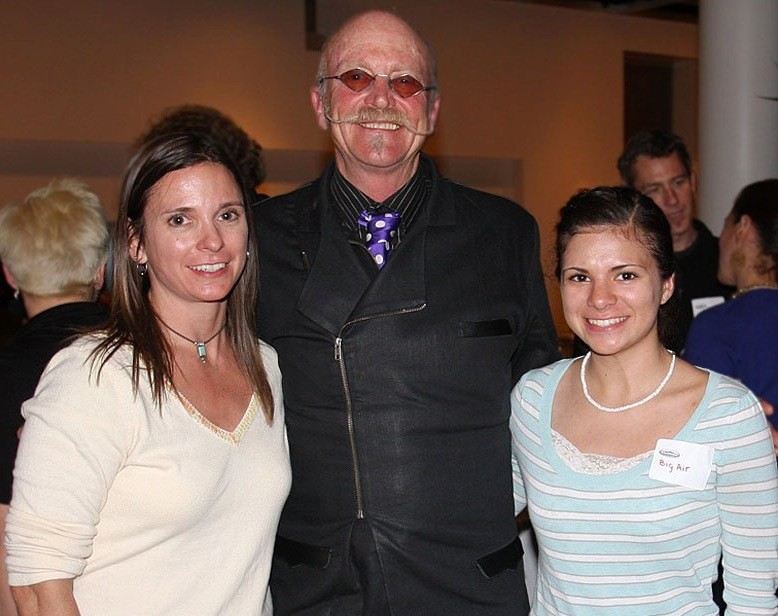 Carrie Dittmer, Gary Fisher and student athlete Arianna Dittmer at CycleFest 2011