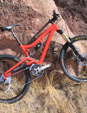 Santa Cruz's 2011 Butcher with 'R am' build kit and Fox Float RP23 shock upgrade