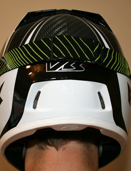 Fox V3R Carbon helmet and The Main Vamplifier goggles