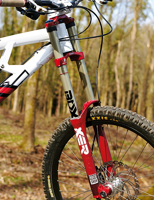 Unusually, we had some issues with this particular Boxxer fork