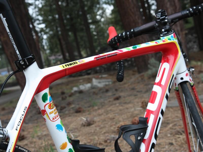db7e31317f9 Pro bike: Jeremy Powers' Jelly Belly p/b Kenda Focus Izalco Pro ...