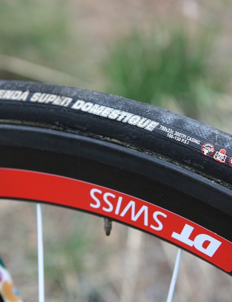 Jelly Belly p/b Kenda race on Kenda's Super Domestique tubular tires