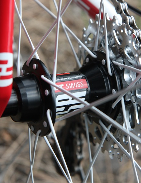 DT Swiss 240s hubs are lightweight and reliable