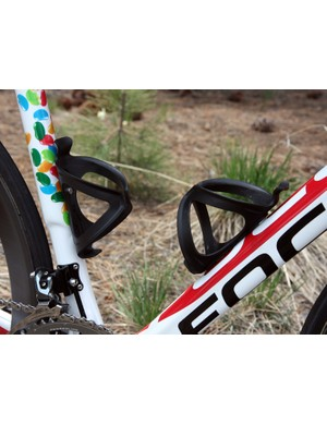 The Jelly Belly p/b Kenda team use Arundel's more value-oriented Sport cages, made from reinforced nylon instead of carbon fiber
