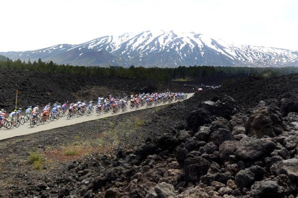Epic scenes at the Giro d'Italia