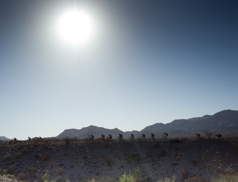 The Warrior 100 took participants through Big Bend National Park