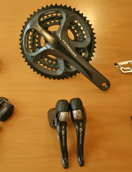Shimano Ultegra 6700 groupset in the new