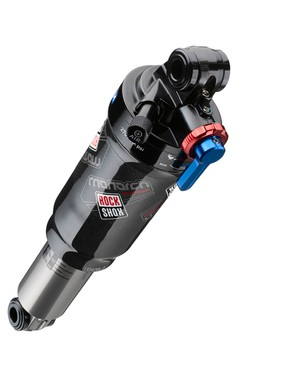 The top-end Monarch rear shock gets a carbon fiber air can for 2012.