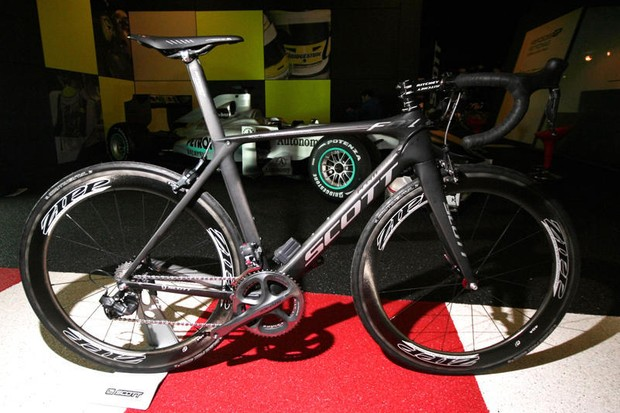 The Scott Foil Premium will be one of the models available for testing