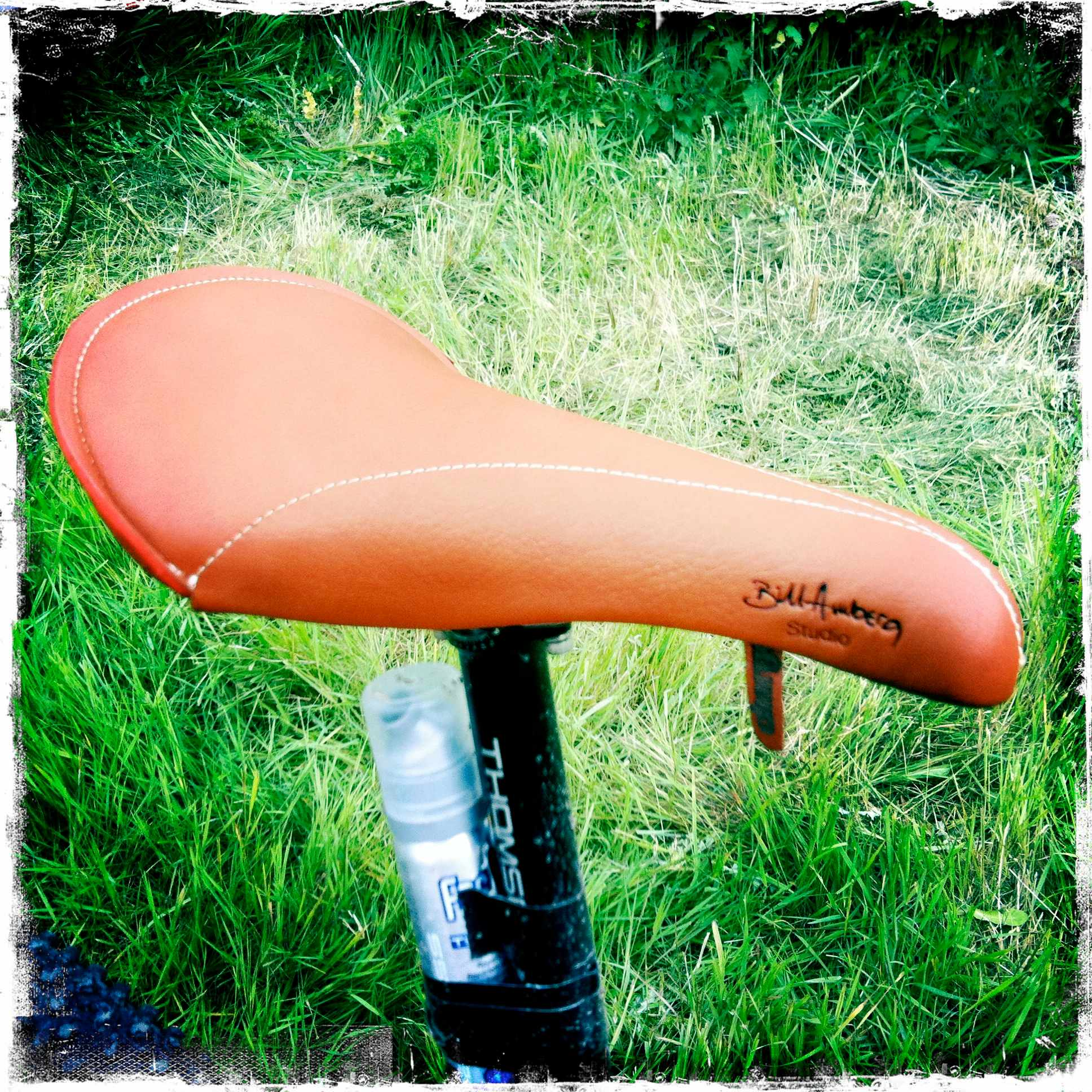 Bill Amberg's Charge saddle collaboration. Class.