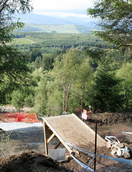 It's not just the drop or the gap - the landing from Big Doon is also extremely steep