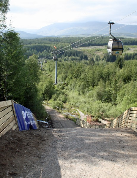 The third new feature built by course designers Chris Ball and Rowan Sorrell is the 'Puggy Pipe', a tabletop jump over a tunnel