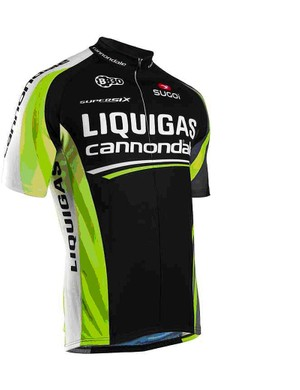 5 June will be the first and only outing for the Liquigas-Cannondale black kit