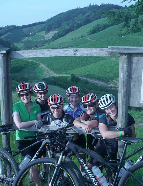 Specialized launched the all new 2012 Fate to female journalists in the picturesque area of Offenburg, Germany.