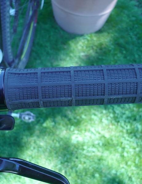 Specialized lock-on grips.