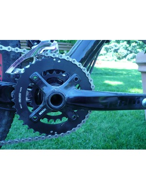 SRAM S1250 Aluminum cranks on the Specialized Fate 29er