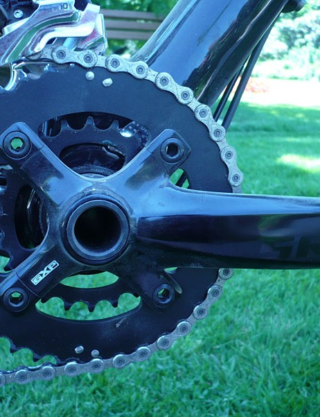 SRAM S1250 Aluminum cranks on the Specialized Fate 29er