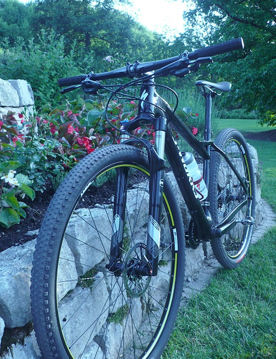 The Specialized Fate looks sleek and ready for riding.