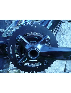 SRAM S1250 crankset, with 22 x 36 chainrings.