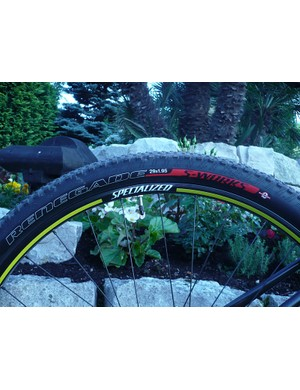 Specialized Renegade tires will grace the Specialized Fate, front and rear.