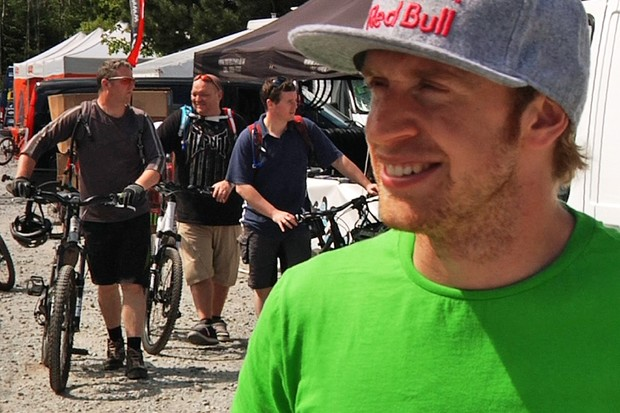 Danny MacAskill's looking forward to some exciting racing at the Fort William World Cup