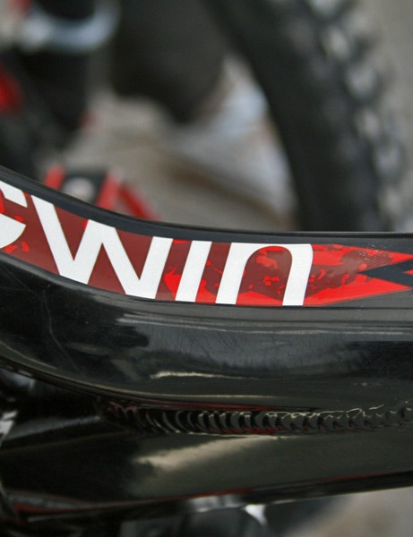 Gwin's new to Trek this year but he's already topped the podium for them