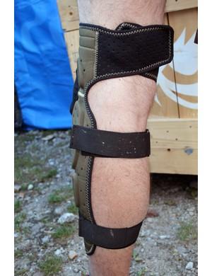 Prototype Bluegrass Super Bobcat leg armour