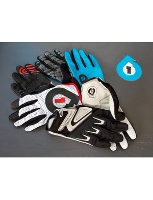 Pre-production samples of SixSixOne's 2012 gloves