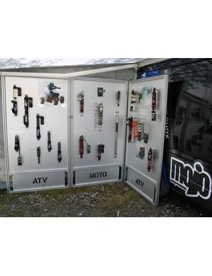 Fox motocross/ATV shocks