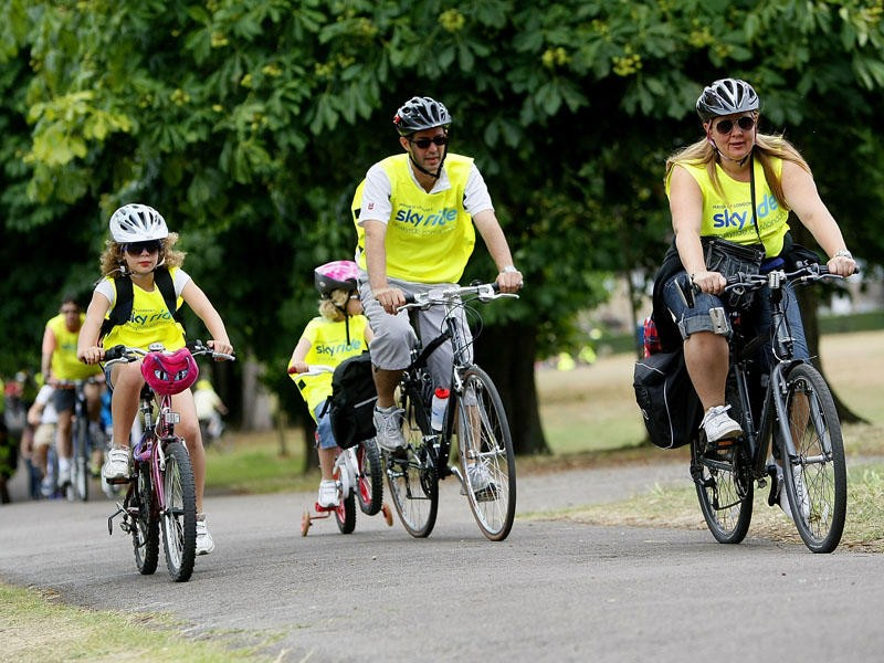 The Sky Ride 2011 series will continue in Ipswich on 12 June