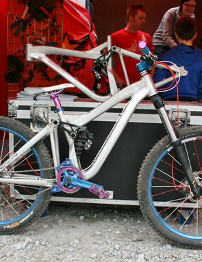 Superstar are developing a range of bikes that will be outfitted with their components. This one-off, super-small women's prototype won't make it into production