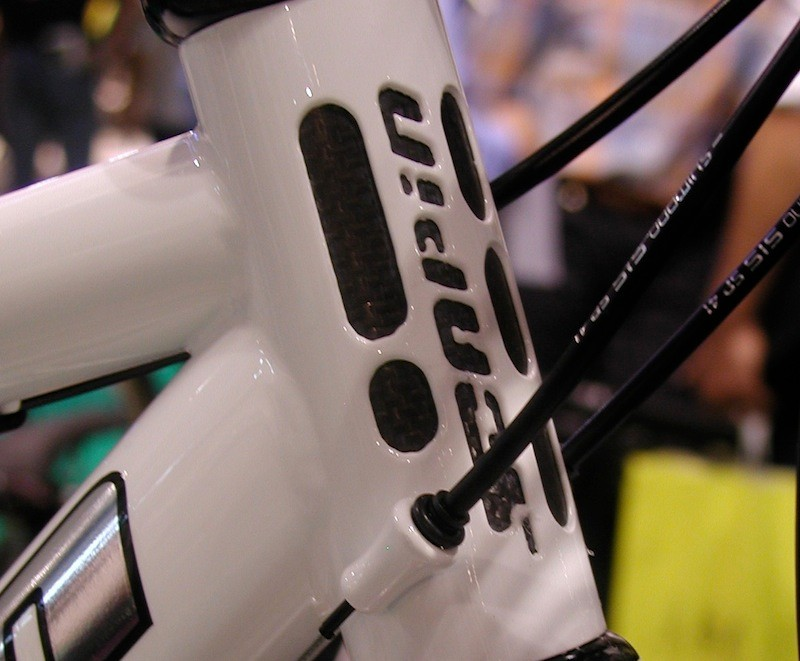 The head tube of one of Scapin's mixed solutions