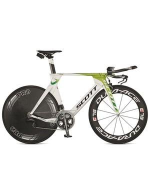 GreenEDGE Scott Plasma time trial bike