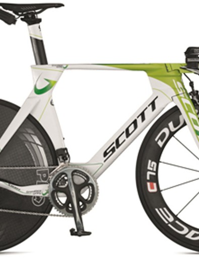 GreenEDGE Scott Plasma time trial bike