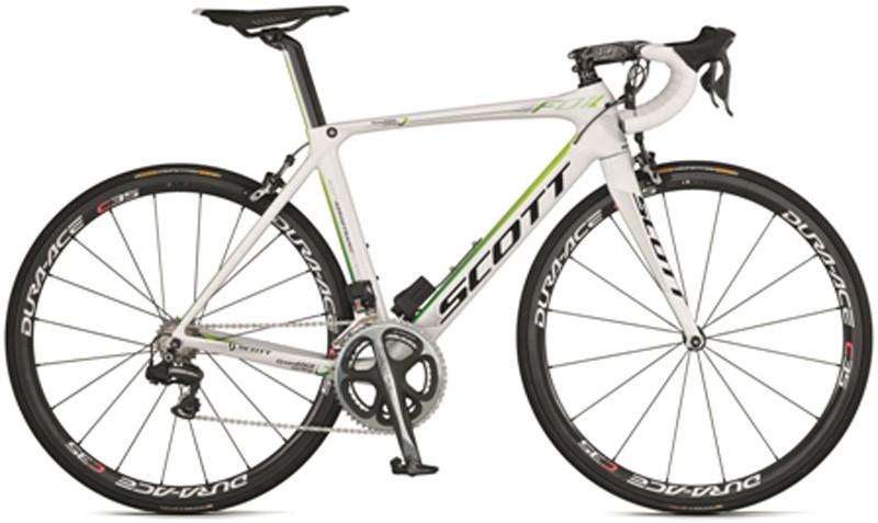 GreenEDGE Scott Foil Aero road bike