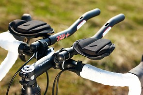 The drop bar, tri bar combo looks odd but it's really versatile in use