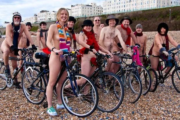 The World Naked Bike Rides were established in 2004